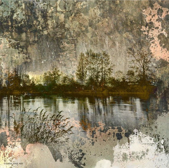River Nocturne,limited edition archival pigment print