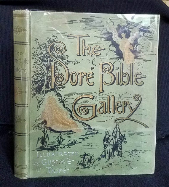 The Dor Bible Gallery C 1890 1900 Illustrated By Gustave Etsy