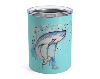 Narwhal Whale, Tumbler, 10oz or 20oz