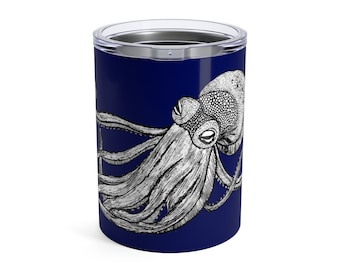 Octopus, Tumbler, 10oz or 20oz