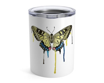 Butterfly, Tumbler, 10oz or 20oz