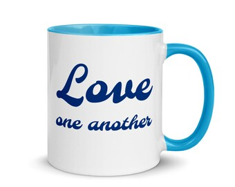 Bluejay Mug with Color Inside
