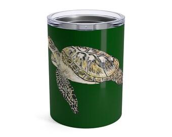 Sea Turtle, Tumbler, 10oz or 20oz