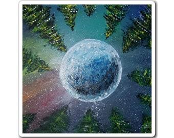 Earths Night Sky Magnet