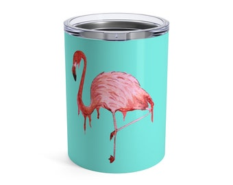Pink Flamingo, Tumbler, 10oz or 20oz