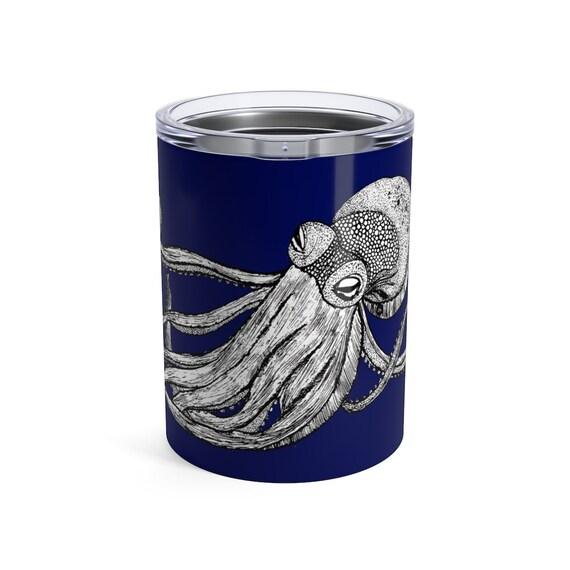 Octopus, Tumbler, 10oz or 20oz