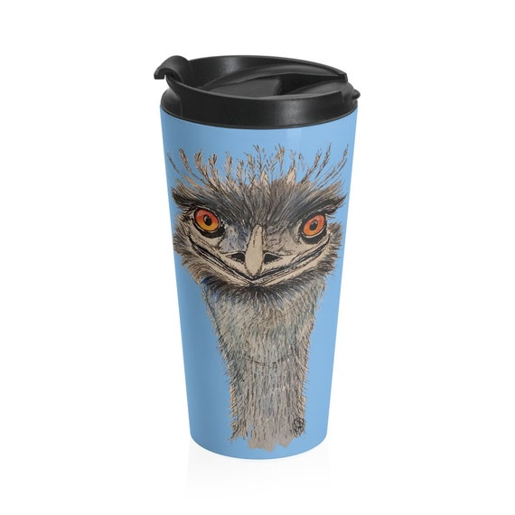 Emu Stainless Steel 15 oz Travel Mug