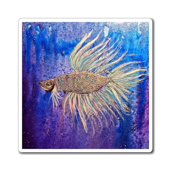 Betta Fish Magnet
