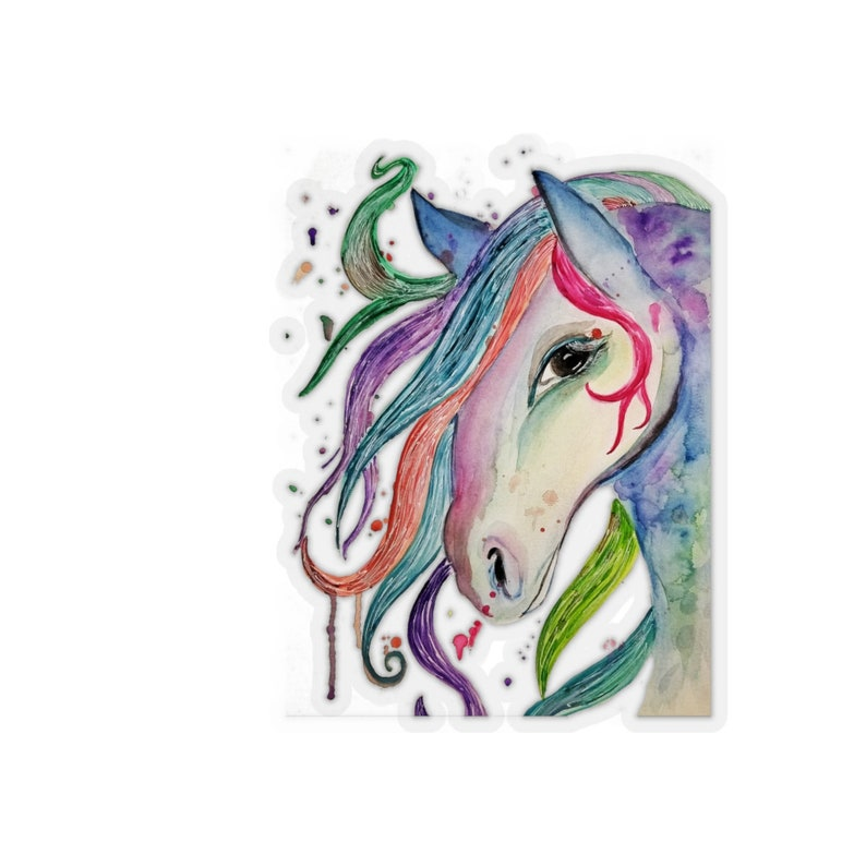 Horse Kiss-Cut Stickers image 0