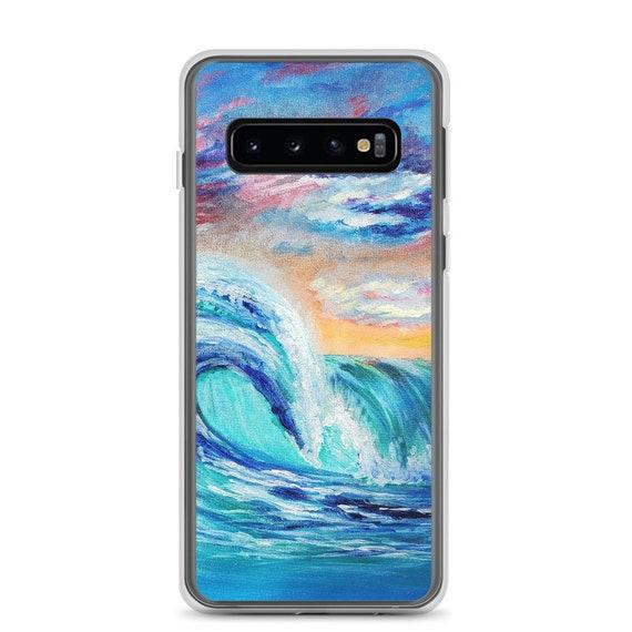 Ocean Curls Samsung Case