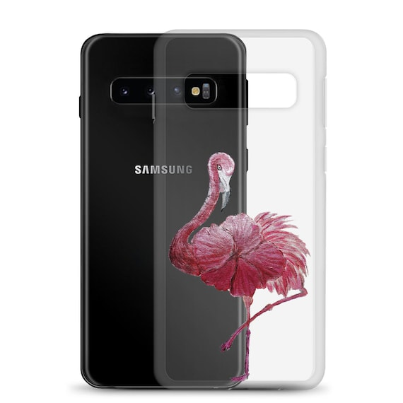 Flowered Flamingo Samsung Case