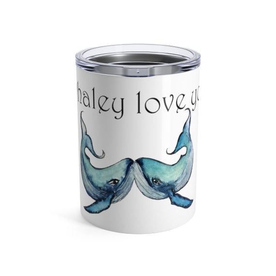 Blue Whales, Tumbler, 10oz or 20oz