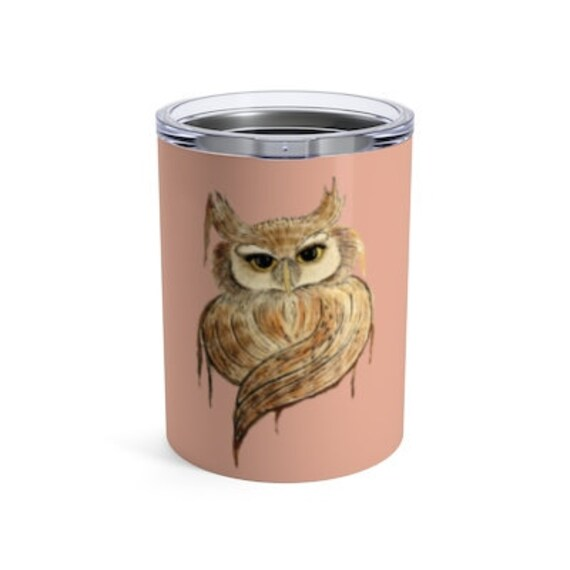 Owl, Tumbler, 10oz or 20oz