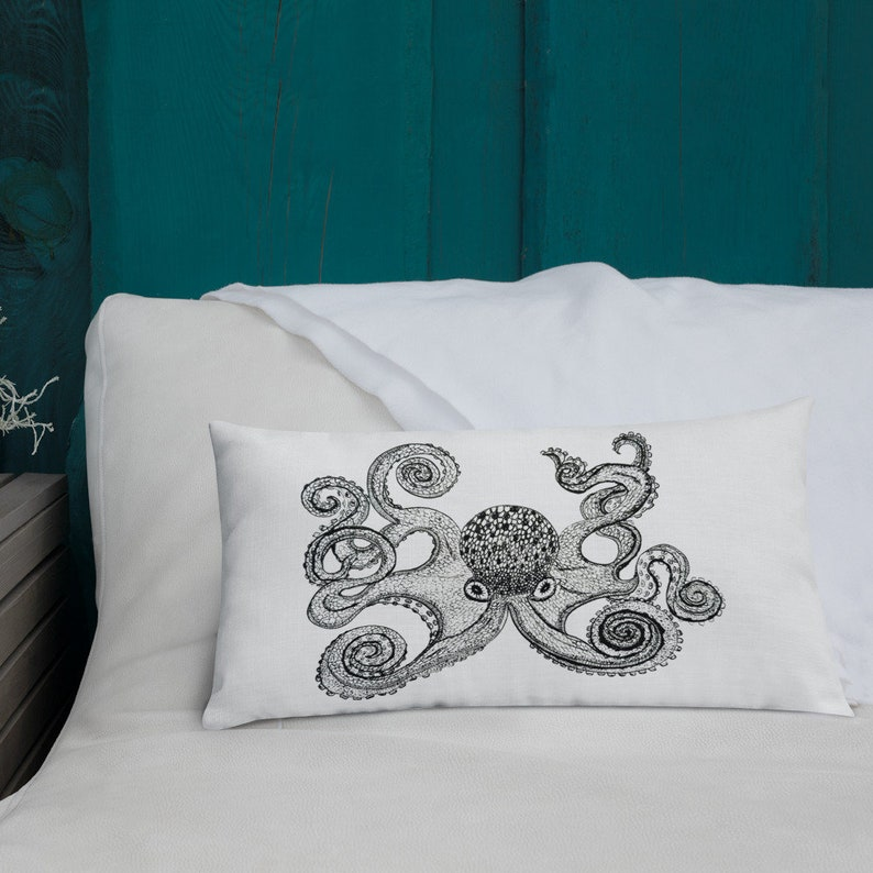 Octopus Premium Pillow image 0