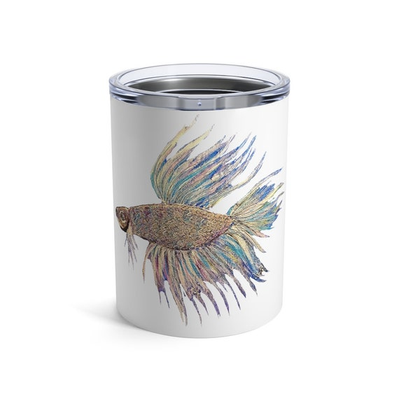 Betta Fish, Tumbler, 10oz or 20oz