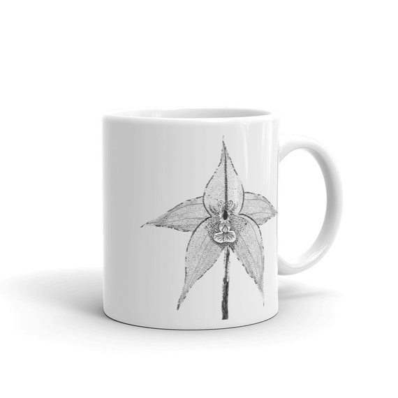 Orchid Custom Coffee 11oz Mugs, Full Color Art Designs, Personalized, Dishwasher/Microwave Safe