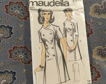 "2f7690e669d7 Maudella  VIntage 60s dress pattern bust 40"""