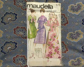 "Maudella 60s Dress Pattern 40"" bust"