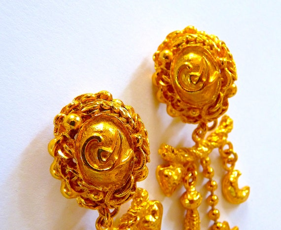 CHRISTIAN LACROIX Earrings, Lacroix Dangle Earrin… - image 3