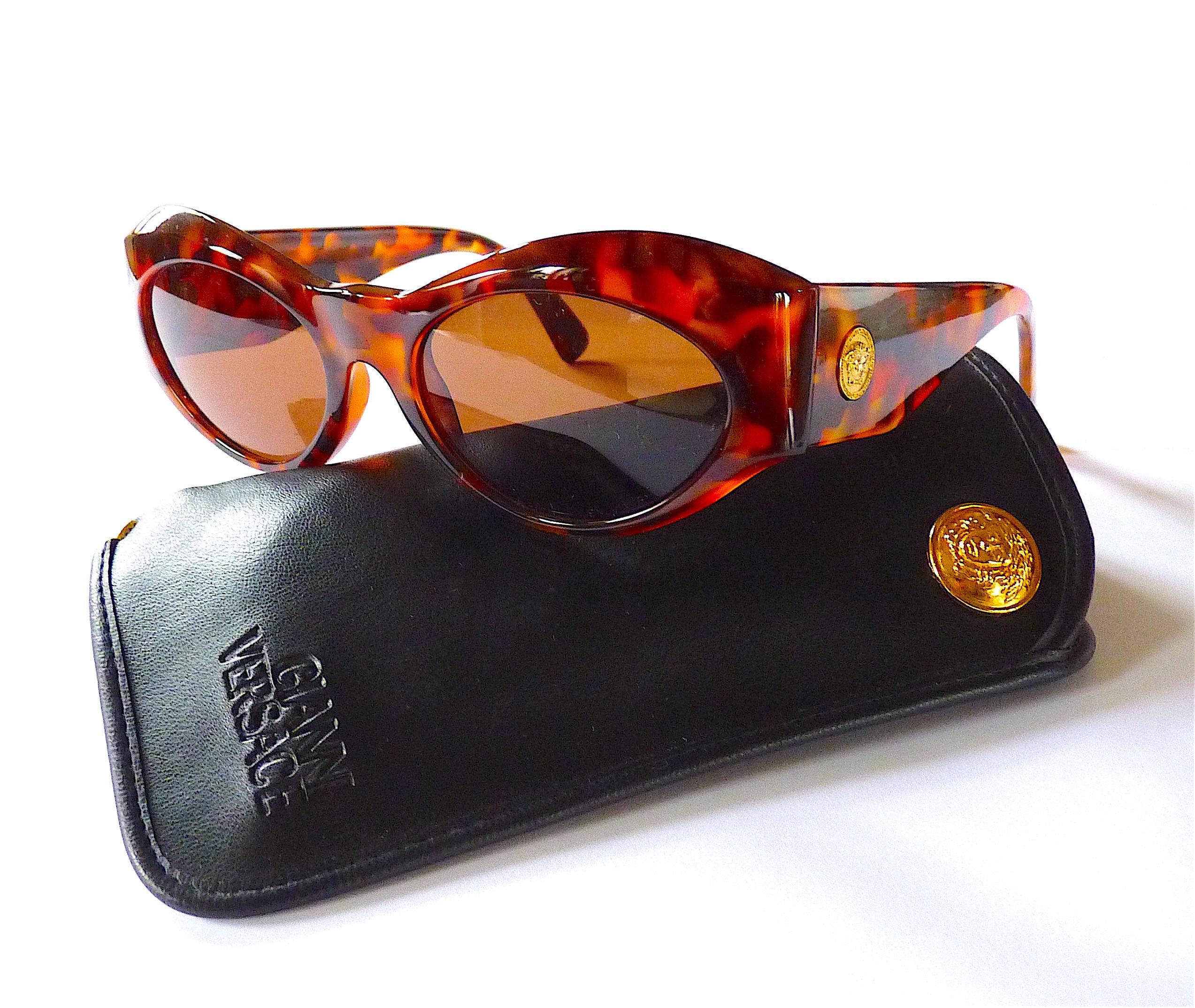 7a8954efcb VERSACE Medusa Head Sunglasses Versace MOD.374 Cat Eye