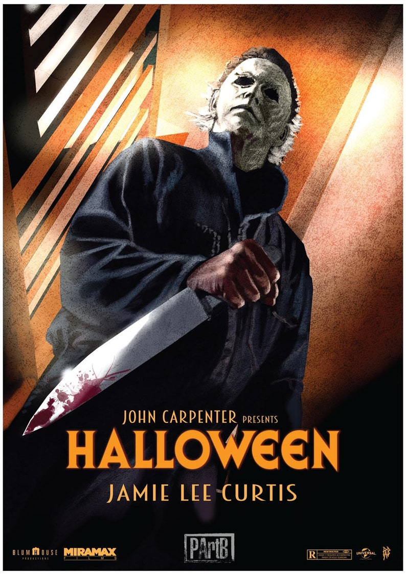 Halloween Poster Art.Halloween Poster