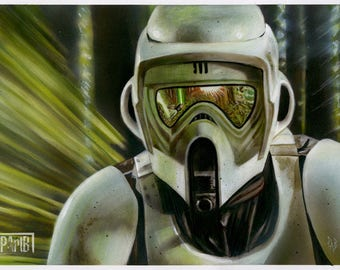 Scout Trooper - Pursuit on Endor (Return of the Jedi)