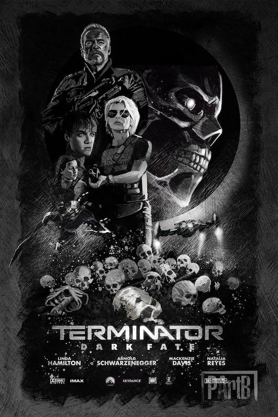 Terminator Dark Fate Movie Poster Multiple Sizes