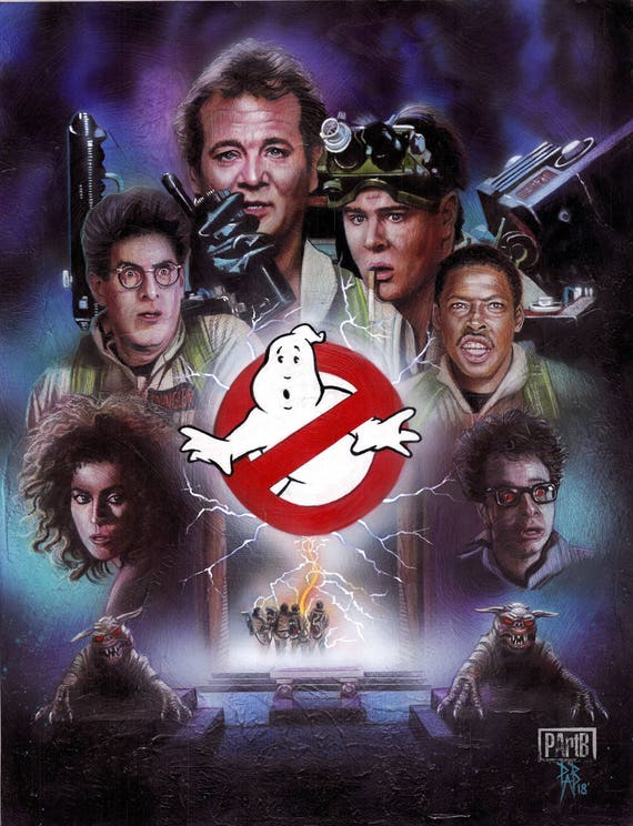 Ghostbusters 1984 Etsy