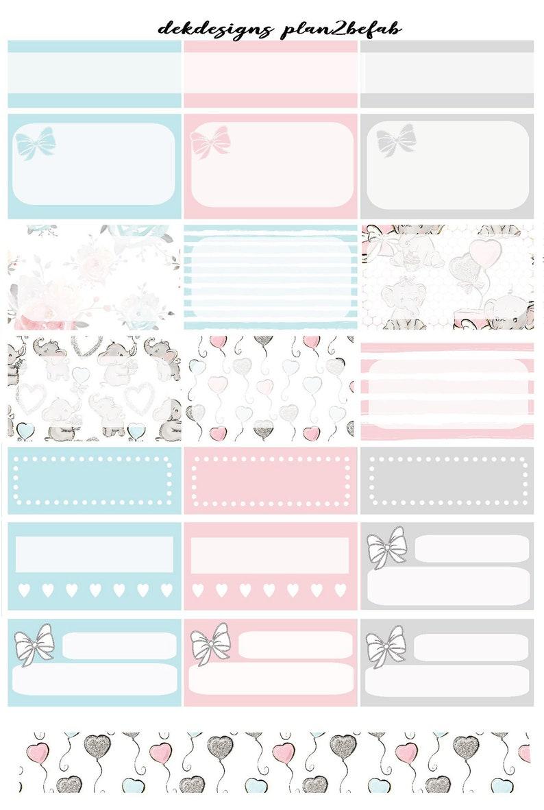 Little One-White Space Kit 4 SheetsWeekly Sticker KitErin Condren StickersHappy Planner StickersPlanning Stickers