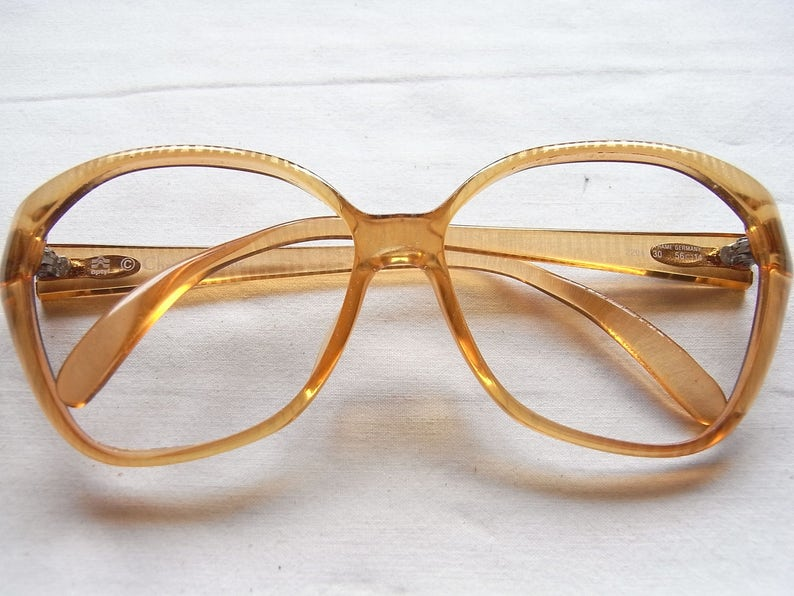 ba874e2e967 Christian Dior Glasses Frame From 70s Vintage Unisex