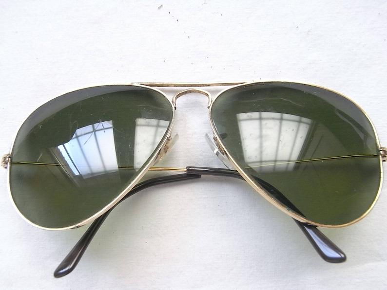 b881f30ef Ray Ban Aviator Ray Ban Vintage Sunglasses Bausch &   Etsy