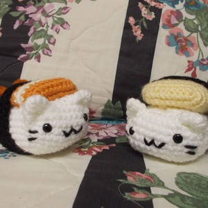 OLD VIDEO] Amigurumi Ebi Nigiri Sushi Cat Crochet Timelapse - YouTube | 300x300