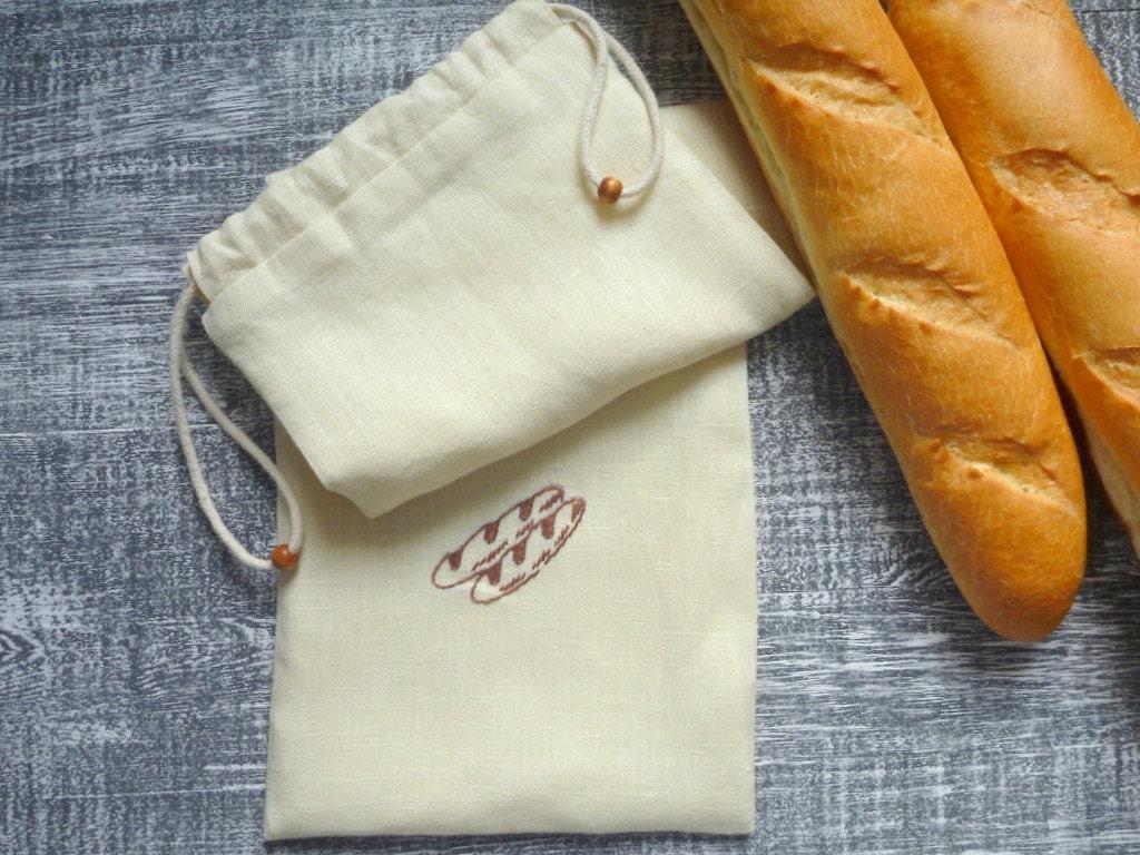 3dc714ab96cf Linen baguette bread bag french long bag etsy jpg 1024x768 Baguette bread  bag