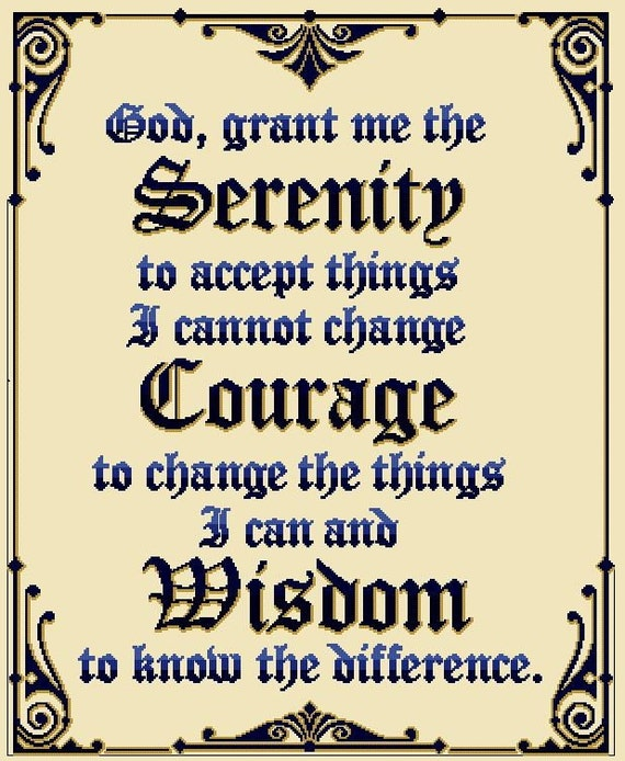 It's just a photo of Printable Serenity Prayer inside cursive