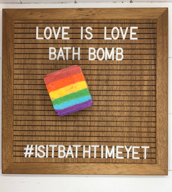 Love is Love Bath Bomb