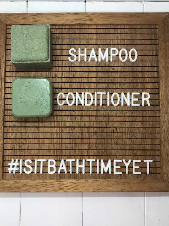 Shampoo & Conditioner Bars