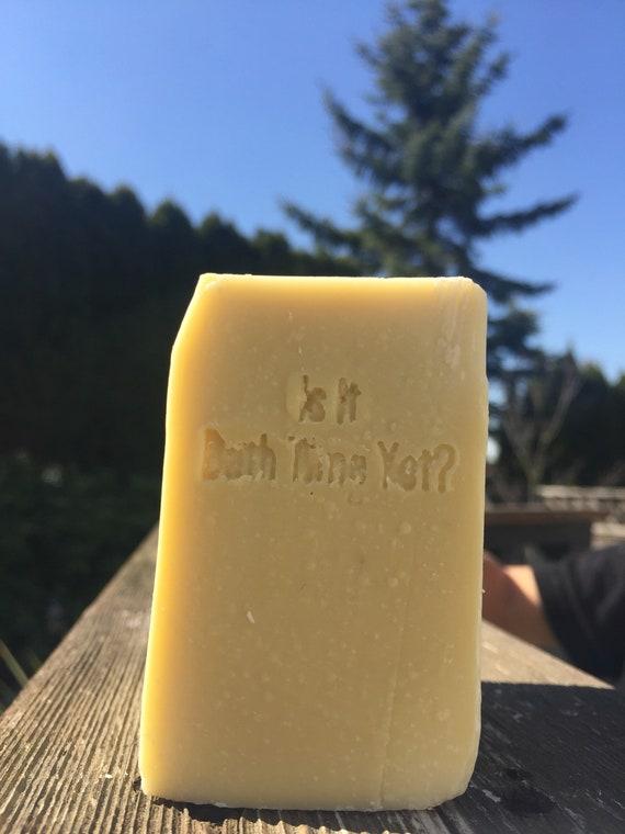 Baby Bar , pure castile soap, unscented, Bébé Bar, savon blanc pur, unscented