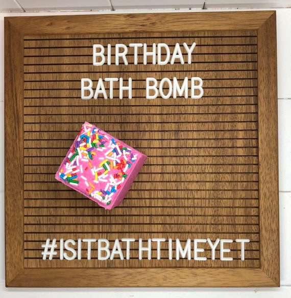 Birthday Bath Bomb