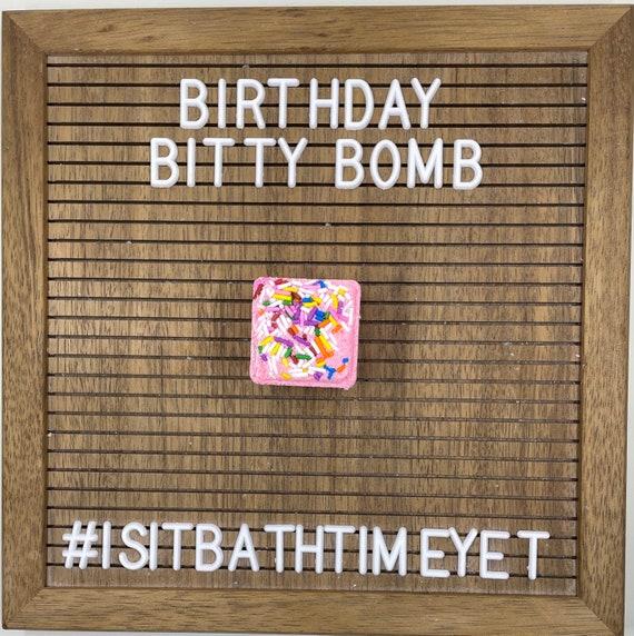 Birthday Bitty Bath Bomb