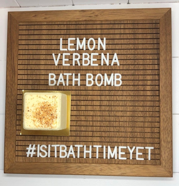Lemon Verbena Bath Bomb, Coconut Oil