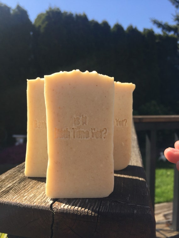 Oatmeal Baby Bar , pure castile soap, Bébé Bar, savon blanc pur