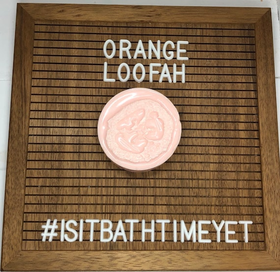Orange Loofah Soap