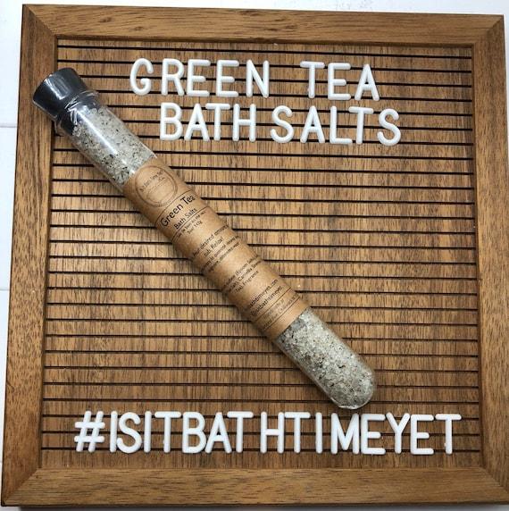 Bath Salts// Green Tea // Luxury Bath