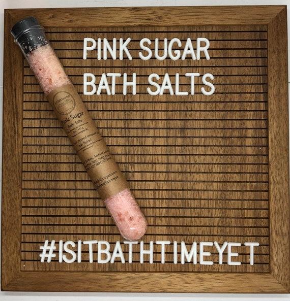 Pink Sugar Bath Salts