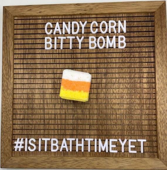 Candy Corn Bitty Bath Bomb