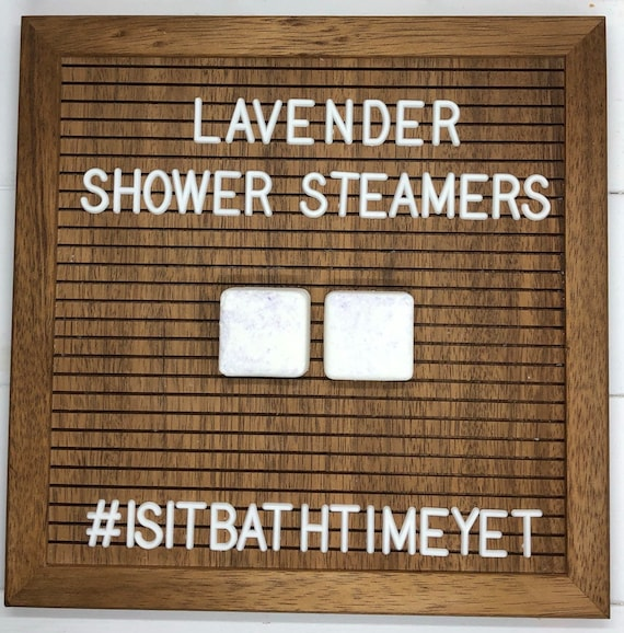 Lavender Shower Steamers