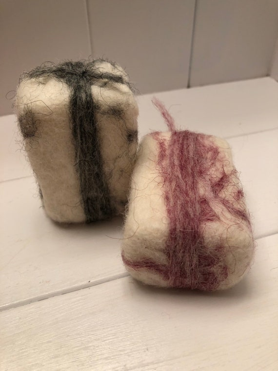 Felted Soap striped