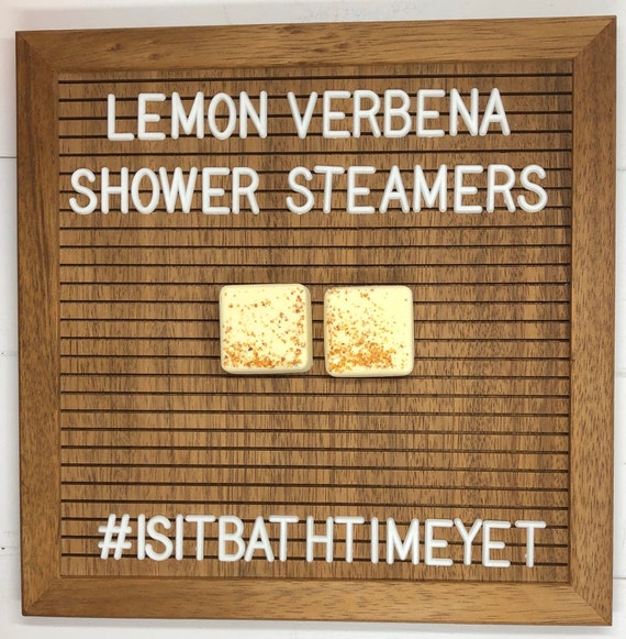 Lemon Verbena Shower Steamers