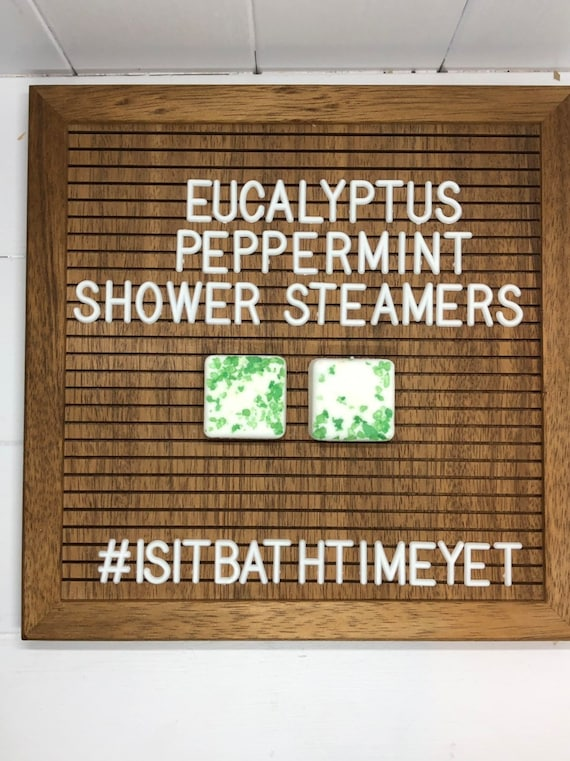 Eucalyptus Peppermint Shower Steamers