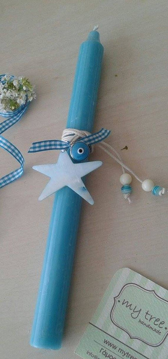 Greek easter candle easter candle godchild easter gift negle Choice Image